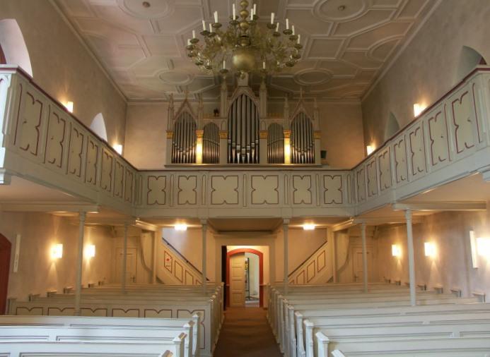 Dreymann-Orgel sucht Organisten / Organistin!