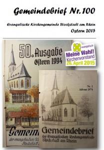 Gemeindebrief 100