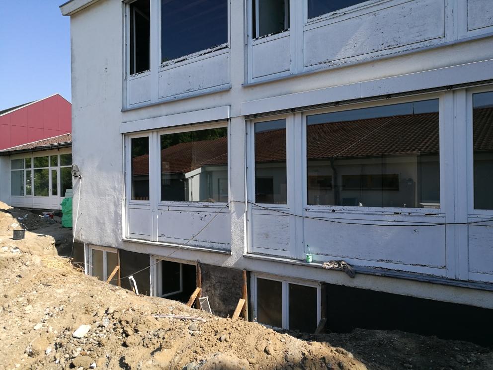 Sanierung Gemeindehaus – Start (Juli 2018)