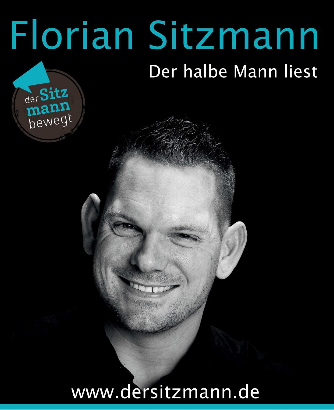 Florian Sitzmann – Der halbe Mann liest – Jubiläumsveranstaltung 20 Jahre Förderkreis Diakoniestation