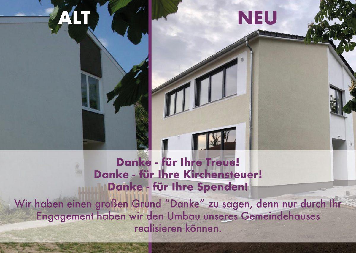 Neueröffnung Evangelisches Gemeindehaus