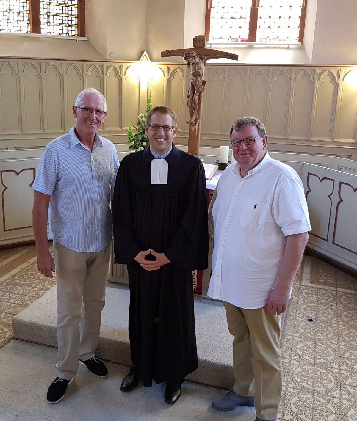 Verabschiedung von Pfarrer Dr. Christian Ferber