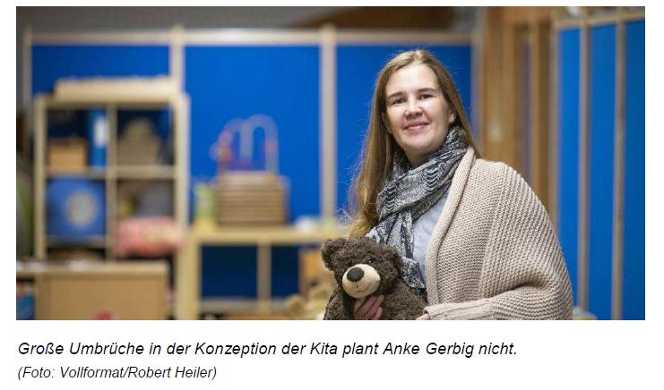 Ried-Echo vom 15.10.2019: Anke Gerbig leitet KiTa Arche Noah