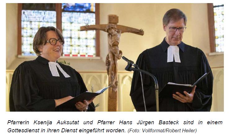 "Ried-Echo vom 1.10.2019: ""Neues Pfarrerpaar in Stockstadt"""